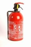 Extintor de fuego portatil polvo 1 kg BC