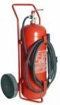 Extintor de fuego con ruedas polvo 50 kg