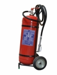 Extintor de fuego con ruedas polvo 50Kg