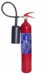 Extintor de fuego portatil  CO2 5 kg - alta clasificacion