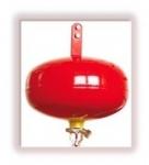 Extintor de fuego automatico - polvo
