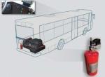 BUS VIPER - Sistema de extincion automatica 2 Kg para buses
