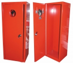 Metal cabinet for fire extinguisher 6 kg